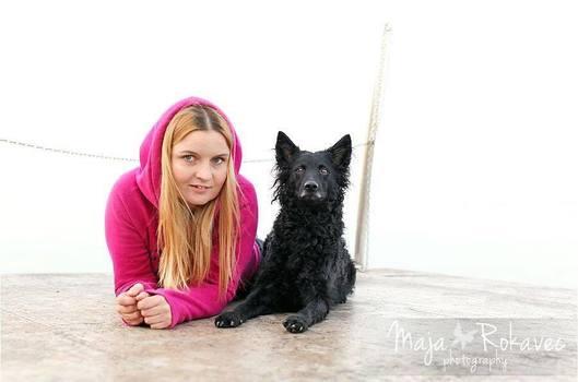 Agility konkurransekurs med Polona Bonac