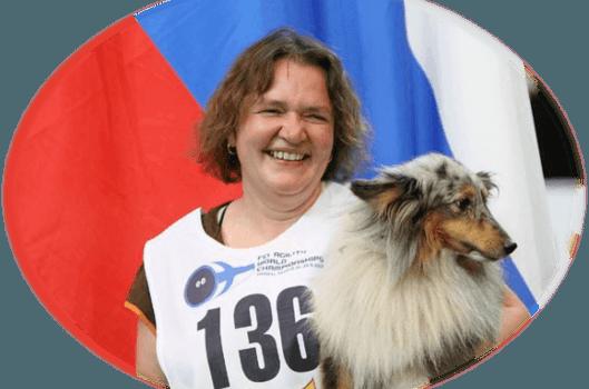 Agility konkurransekurs med Svetlana Tumanova